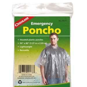 CL Emergency Poncho