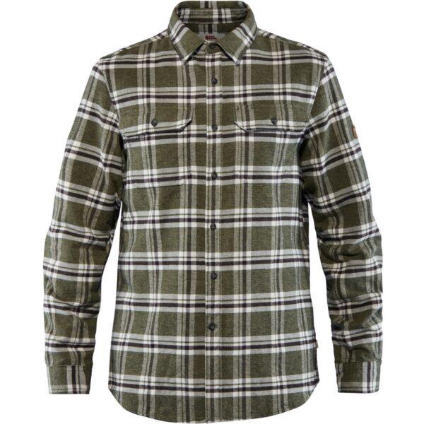 Ovik Heavy Flannel Shirt Men