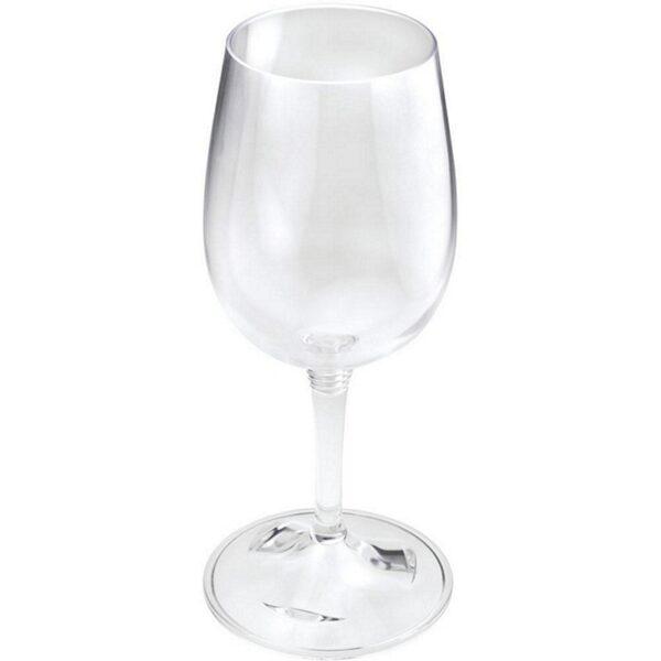 Plastic witte wijn glas