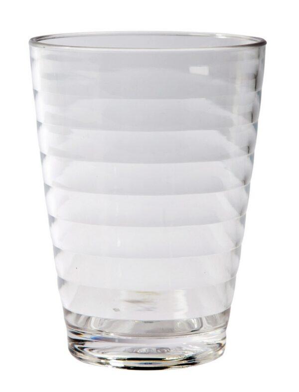 BC Limonadeglas Rib PC 350 ml